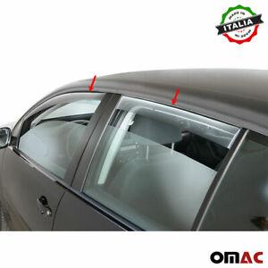 Window Visor Vent Sun Shade Rain Guard 4pcs Fits Volvo XC60 2009-2017