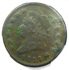 1811 Classic Liberty Head Large Cent 1C - PCGS VG Details - Rare Date Coin!