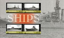 Grenadines Grenada 2013 MNH Ships Warships 4v M/S Yamato Bismarck Stamps
