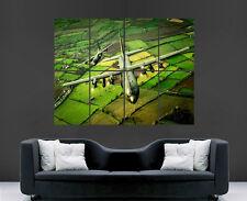 LOCKHEED C130 HERCULES POSTER RAF AEROPLANE PRINT PICTURE GIANT HUGE