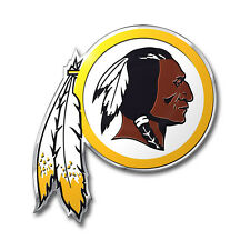 ProMark NFL Washington Redskins Aluminum Color Car Truck Emblem Sticker Decal