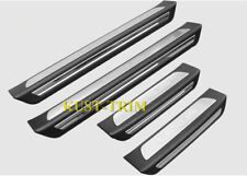 FOR 2017-20 Lexus NX 300/300H/200T Door Sill Plate Entry Guards Protector Trim