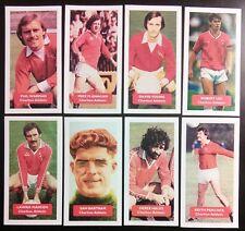 Set completo di tutte le 8 Charlton Athletic punteggio UK FOOTBALL Commercio Carte-LIMITED