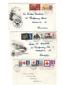 QEII 1960s Illustrated First Day Covers