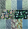 NEW 100% Cotton Material Floral,Roses Print Fabric Crafting Dressmaking Material