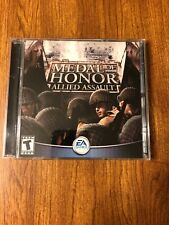 Medal of Honor Allied Assault (PC, 2002)- case, discs, insert