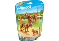 Playmobil #6645 Tiger Family - New Factory Sealed