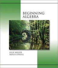MP: Beginning Algebra with SMART CD by Julie Miller, Molly O'Neill. 0072551674 H