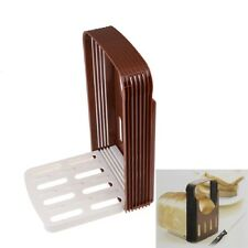 Bread Cutter Toast Slicer Cutting Guide useful Kitchen Tool Random Color