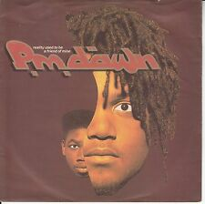 """PM Dawn - Reality Used To Be A Friend Of Mine/Comatose, 7"""" Single!"""