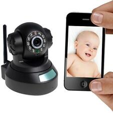 Wireless P2P Pan Tilt IP Cameras WiFi Webcam Network Security Audio Night Vision