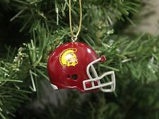 USC, Spartan, Football Helmet Christmas Ornament
