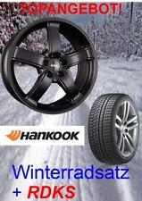 """TEC AS1 17"""" Schwarz + 225/60 Hankook Winterreifen + RDKS für Hyundai Tucson TLE"""