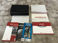 2016 Kia Sorento Owners Manual With Case And Navigation OEM Free Shipping