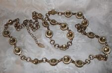 COLD WATER CREEK DASIEY FLOWER ADJ 42 INCH NECKLACE PERFECT FOR SPRING & SUMMER