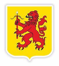 1x Smaland Sweden Coat of Arms Bumper Sticker Locker Laptop Tablet PC Fridge