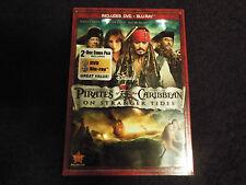 Pirates of the Caribbean:On Stranger Tides(BluRay/DVD2011 2-Disc)New w/Slipcover
