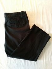 Jones New York Signature Women's Black Stretch Cotton Capris Size 6