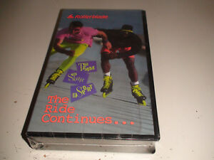 RARE Rollerblade VHS Brand New Factory Sealed 1989