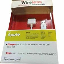 Just wireless USB Chargeur - Chargeur 30pin IPHONE 4 / 4s/1g/3g/3gs , IPAD 1,2