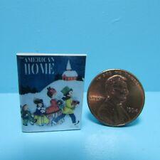 Dollhouse Miniature Replica Magazine of Vintage American Home ~ B116