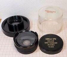 Lens 0,42X MACRO AMERICAN OPTIC DELUXE SUPER PANORAMIC JAPAN [M1]