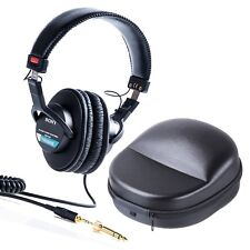 Sony MDR-7506 Monitor Headphone Plus Protective Travel Case