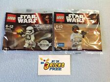 Lego Star Wars Polybags Lot of 2 - 30602/30605 New/Sealed/Retired/H2F