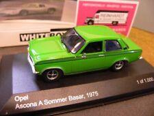1/43 White Box Opel Ascona A Sommer Basar grün