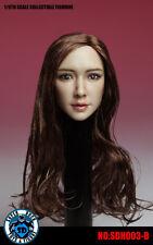 1:6 Asian Headsculpt Version 3 with Blonde Hair Super Duck US Seller! #003B