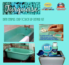 bath enamel paint turquoise,30ml,chip touch up,turquoise enamel bath chip