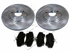 FOR CHRYSLER PT CRUISER 2.0 2.2 CRD 2.4 FRONT BRAKE DISC DISCS & PAD PADS 00-08