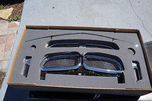 BMW 7-Series Asanti grill Grille kit black mesh Car Grill 06-08 750