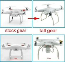 Tall Landing Gear for DJI Phantom 1 2 Vision Quadcopter Wide & High Extend