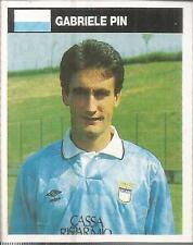 [AA] FIGURINA CAMPIONI & CAMPIONATO 1990/91-LAZIO-PIN