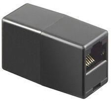 RJ45 CAT5-UTP Netzwerk Kupplung Patch Kabel-Verbinder-Adapter Verlangerung ISDN