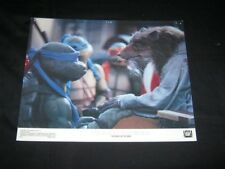 RARE Original TEENAGE MUTANT NINJA TURTLES II Lobby Card SPLINTER #2