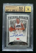 DERON WILLIAMS 2005-06 FLEER GREATS OF THE GAME ROOKIE AUTO RC AUTOGRAPH BGS 9.5