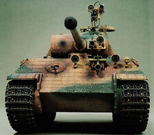 PANTHER PzKpfw V German Tank Superb 1/35 Kit Builds Vintage Model Art 448