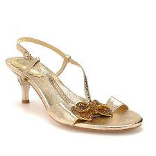 Women's Bridal or Wedding Kitten Heels