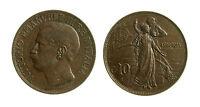 pcc1839_51) Vittorio Emanuele III (1900-1943) - 10 Centesimi Cinquantenario 1911