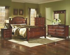 New Classic Furniture Drayton Hall Queen 6 Piece Bedroom Set