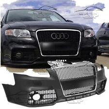 Front Bumper for AUDI A4 B7 8e 04-08 RS LOOK Body Kit Chrome Grill No PDC