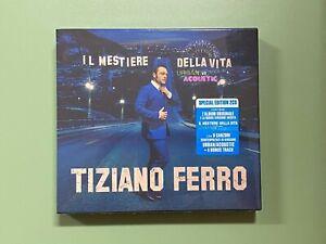 TIZIANO FERRO MESTIERE DELLA VITA SPECIAL EDITION 2 CD URBAN VS ACOUSTIC ALBUM