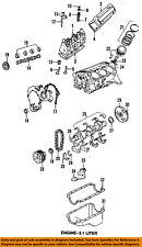 GM OEM-Engine Timing Chain 10166352