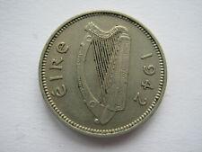 Ireland 1942 copper nickel Threepence GVF