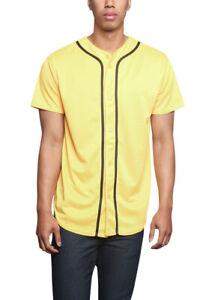 Men's Basic Sports Team Uniform Plain Raglan Baseball Jersey T-shirt STS0171-A8I