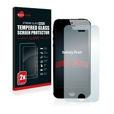 2x Apple iPhone 5 / 5S / 5C / SE Panzerglas Schutzglas Panzerfolie Echt Glas