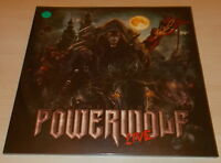 POWERWOLF-THE METAL MASS LIVE-2016 2xLP GREEN VINYL-LIMITED TO 200+POSTER-NEW