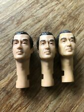 Johnny West Circle X Ranch Daniel Boone Bill Buck Heads Set Of Three.